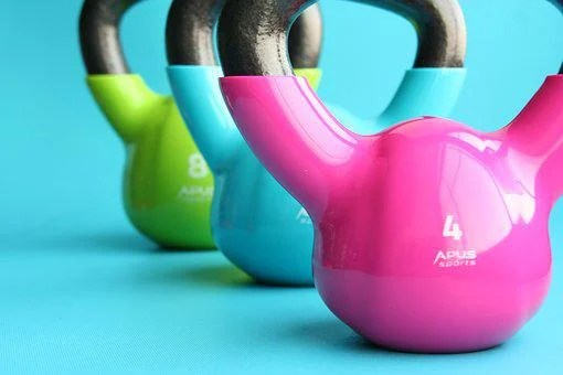 Kettlebells, Gym, Exercise, Slimming
