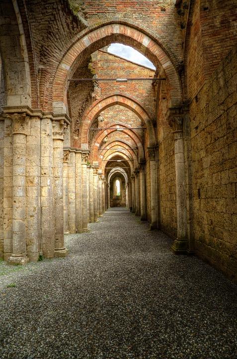 Free photo Archway Peristyle Gothic Abbey  Free Image on Pixabay  1679023