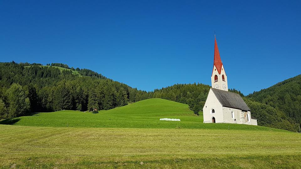 Autumn Fall Wallpaper Free Church Landscape Tyrol 183 Free Photo On Pixabay