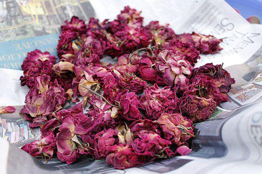 Dry Roses, Potpourri, Petal, Floral
