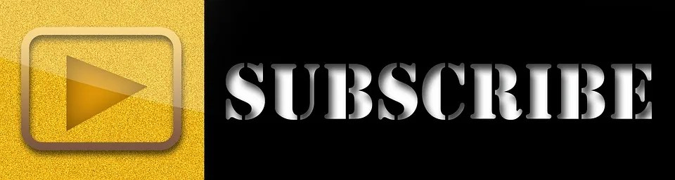 Pulsante Iscriviti, Sottoscrivi, Youtube, Video