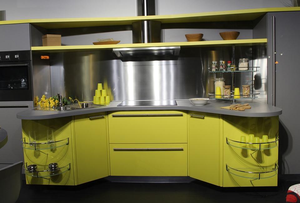 furniture for kitchen island cart ikea 厨房现代厨房家具 pixabay上的免费照片 厨房 现代厨房 家具 小厨房 房子 内政 厨师 arredo 吃 室内装饰