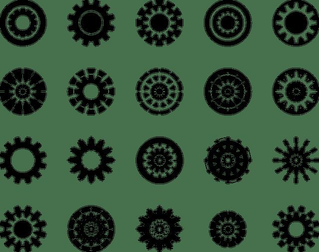 Black White Bird Wallpaper Gear Wheel Icon 183 Free Vector Graphic On Pixabay