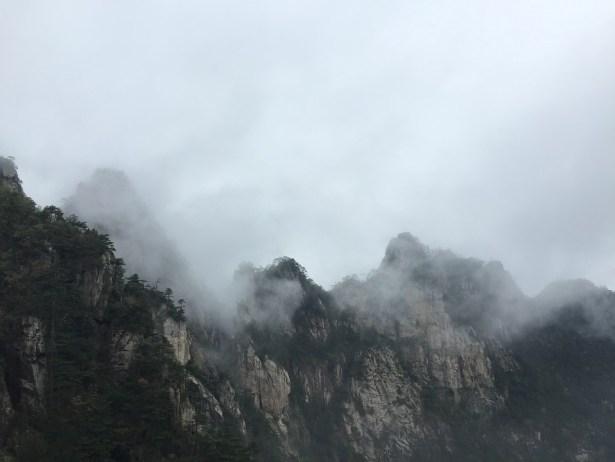Damingshan, クラウド, 浙江省の西部, 山, 太陽の光, 山東省, 中国, 霧の道, 早朝に