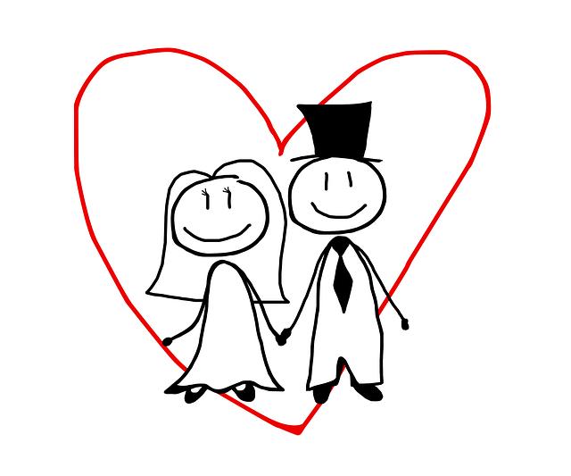 Spouses Newlyweds Love  Free image on Pixabay