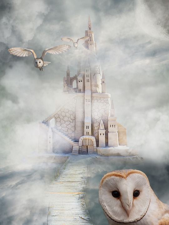 Castle Owl Fairy Tales Free Image On Pixabay