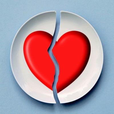 Broken, Heart, Love, Red, Romance, Relationship