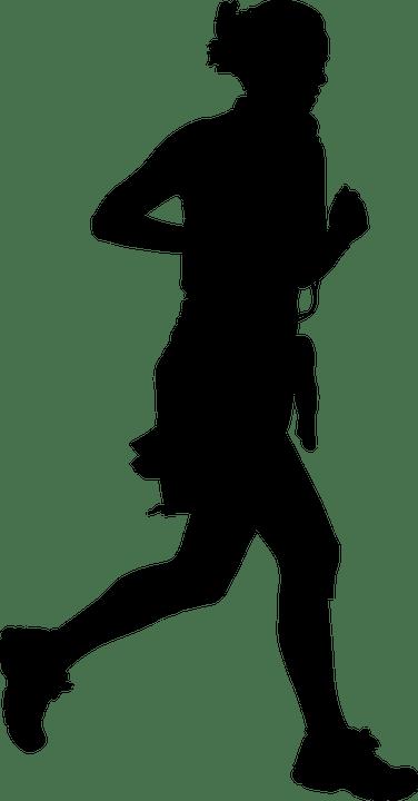Jalan Sehat Vektor : jalan, sehat, vektor, Woman, Female, Vector, Graphic, Pixabay