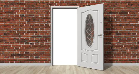 Door Open Wall Free image on Pixabay