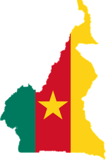 Cameroon, Flag, Map, Geography, Outline