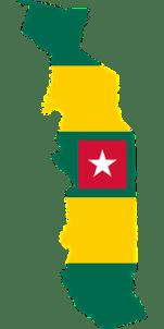 Togo, Flag, Map, Geography, Outline