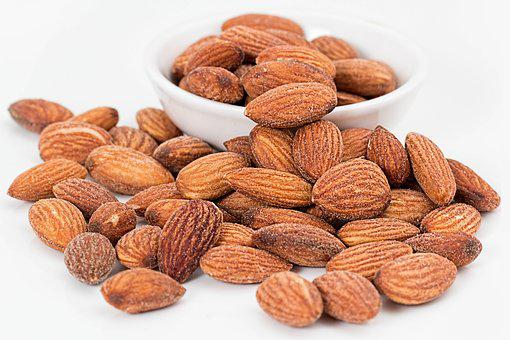 Almonds, Nuts, Roasted, Salted
