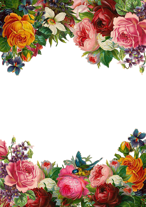 Clipart Pictures Tomatoes Flower Rose Frame · Free Image On Pixabay
