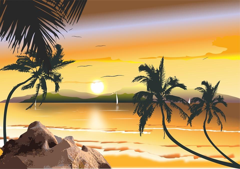 Free Illustration Brazilian Beach Beach Northeast Free