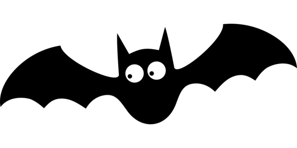 bat silhouette halloween free