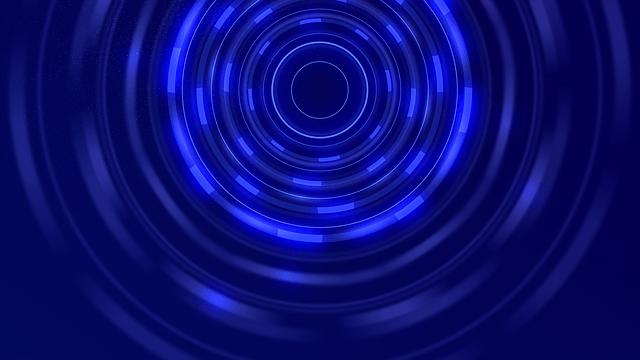 Blue Tunnel Circle 183 Free Image On Pixabay