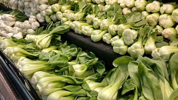 青梗菜, 緑豊かな緑, 新鮮な食材, 緑の党, 食品, 健康, アジア料理