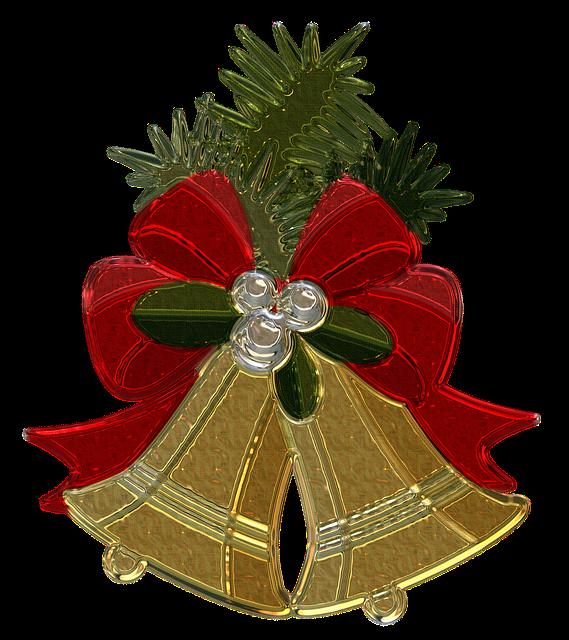 Free illustration Christmas Bells Metallizer  Free