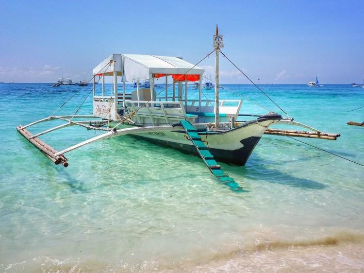 Philippines, Boracay, Plage De Sable Blanc, Plage, Mer