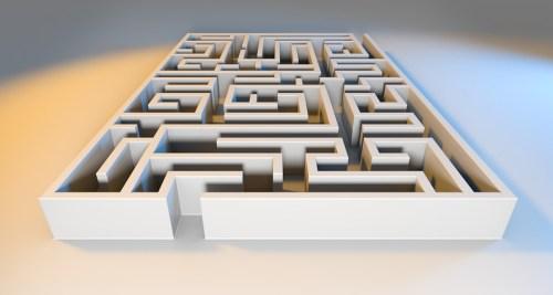 Maze, Labyrinth, Solution, Lost, Problem, Challenge