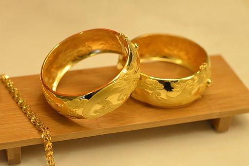 Prezenty Ślubne, Złota, Złoty 鐲