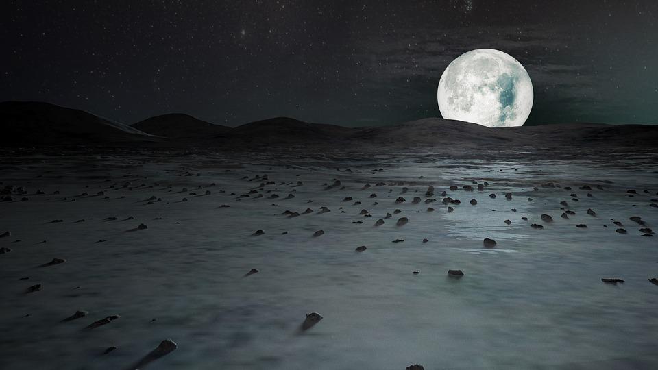 Illustration gratuite Pleine Lune Nuit DHiver Lune