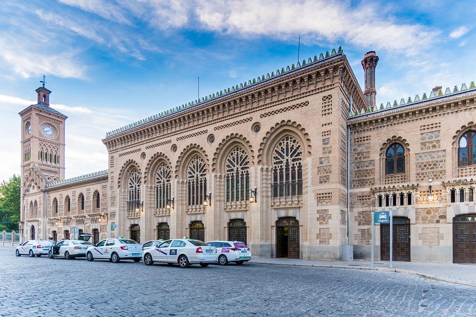 Free Photo Toledo Train Station Spain Free Image On