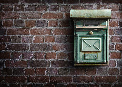 Une boîte aux lettres vide désormais