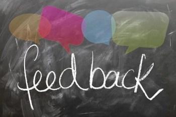Feedback, Confirming, Board, Blackboard