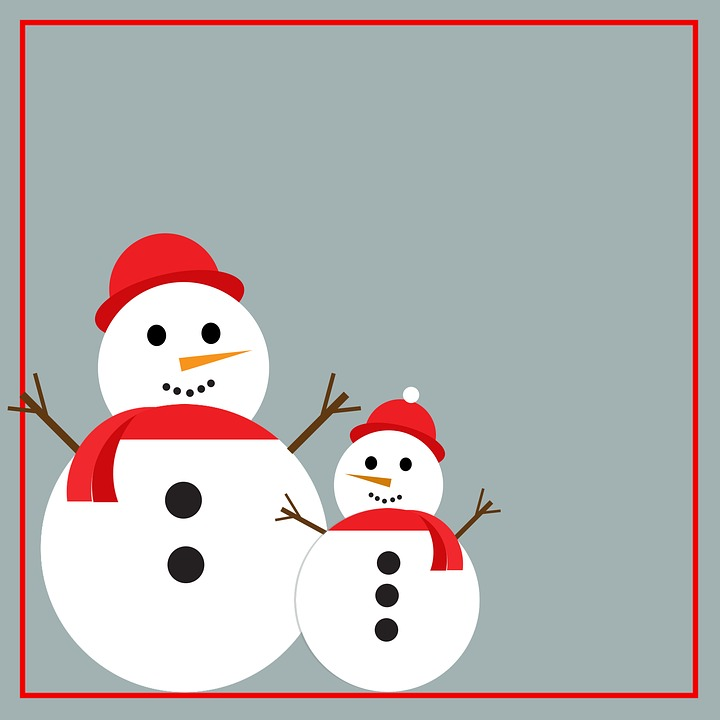 Snowman Snow Cold Free Image On Pixabay