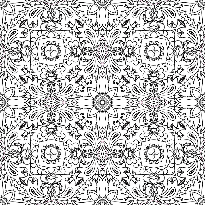 Mandala Pattern Line Art Black And Free Image On Pixabay