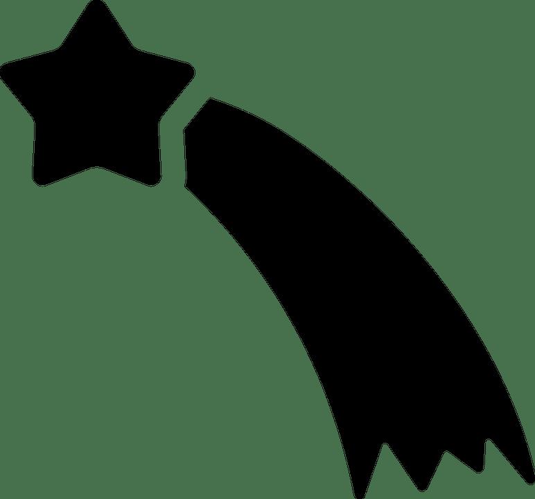 Kostenlose Vektorgrafik Sternschnuppe Sterne Kite