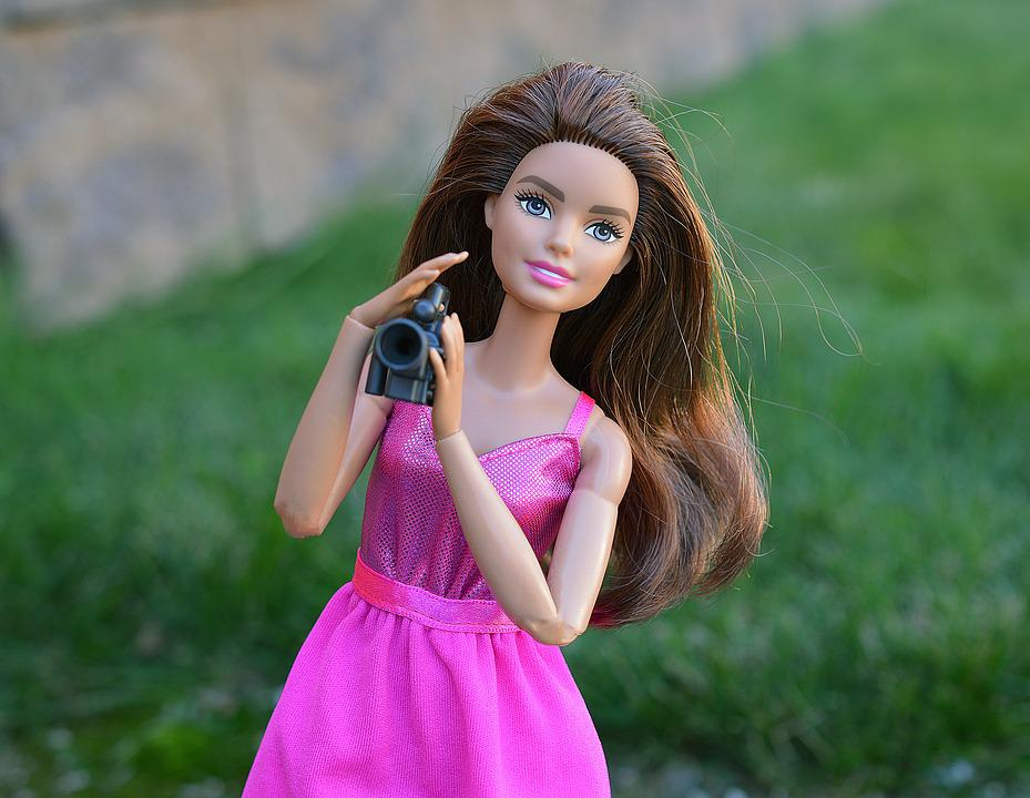 Dslr Camera With Girl Wallpaper Barbie Doll Camera Video 183 Free Photo On Pixabay