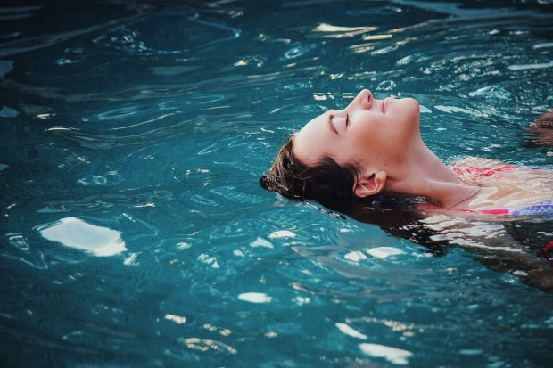 Swimming increases your immune system and makes you feel better.