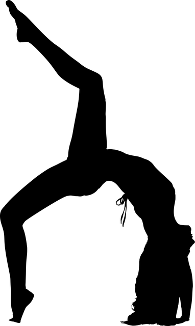 Yoga Fitness Pose  Free vector graphic on Pixabay