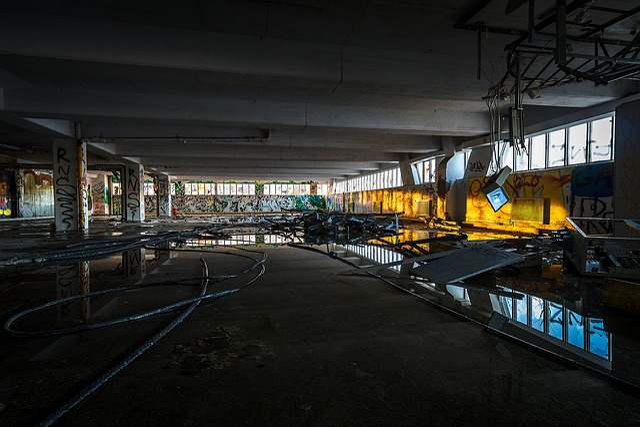 Paint Falling Wallpaper Urban Warehouse Factory 183 Free Photo On Pixabay