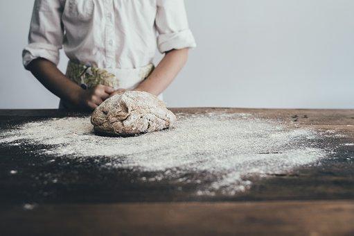 Bakery, Bread, Baker, Apron, Baking