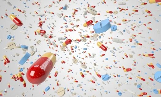 Pillola, Capsula, Volano, Molti, Orda, Massa, Medico