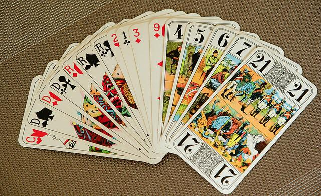 Playing Cards Tarot Game Free Photo On Pixabay
