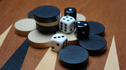 backgammon game board