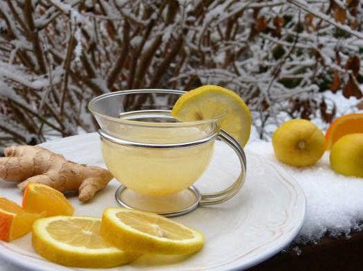 Ginger, Limone Caldo, Tee, Limone, Neve, Succo, Freddo