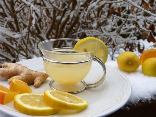 Ginger, Limone Caldo, Tee, Limone, Neve, Succo, Freddo
