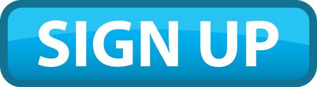 A blue Call-To-Action triangular button saying SIGN UP