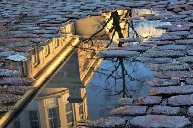 Puddle Old Montral  Free photo on Pixabay