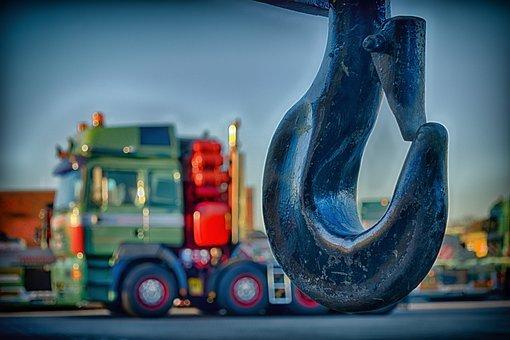 Hook, Crane, Close, Detail, Used, Last