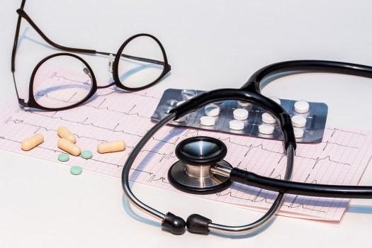 Ecg, Elettrocardiogramma, Stetoscopio, Battito Cardiaco