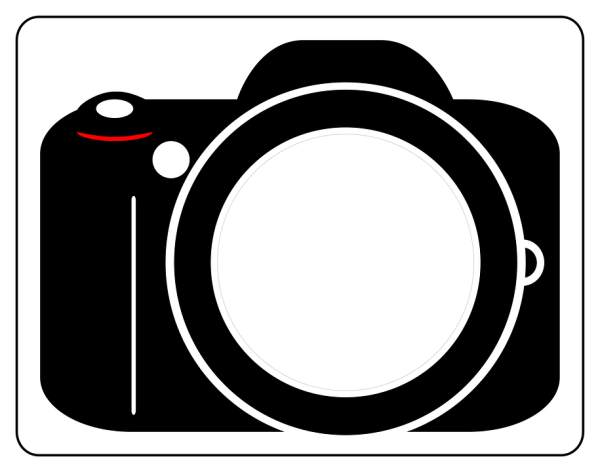 Vector Photo Icon Camera Free vector graphic on Pixabay