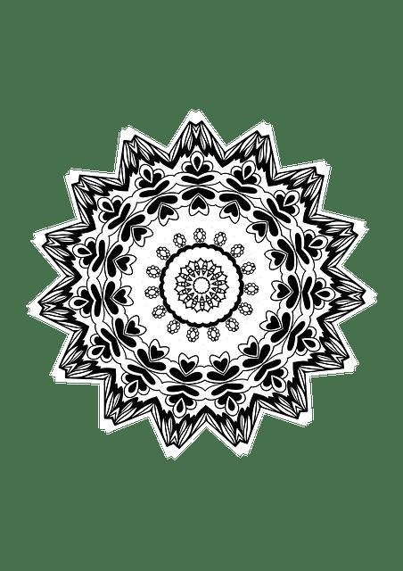 Mandala Design Drawing Coloring Free Image On Pixabay