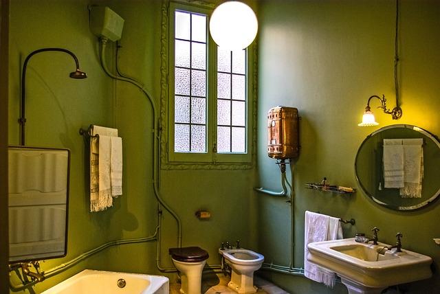 Casa Mila Gaudi Bathroom Free Photo On Pixabay