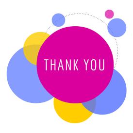 Bubbles, Thank You, Design, Circles, Creative, Colors